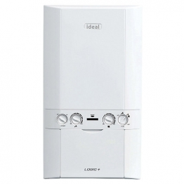 Ideal Logic Plus 30kw Combi Boiler & Standard Horizontal Flue Pack Erp