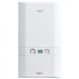 Ideal Logic Plus 12kw Heat Only Boiler & Standard Horizontal Flue Pack Erp