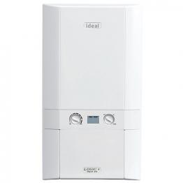 Ideal Logic Plus 24kw Heat Only Boiler & Standard Horizontal Flue Pack Erp