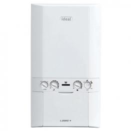 Ideal Logic Plus 24kw Combi Boiler & Standard Horizontal Flue Pack Erp