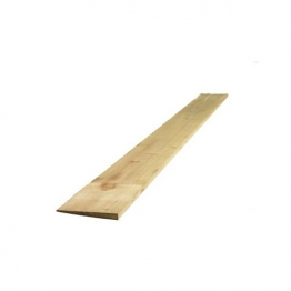 Feather Edge Board Treated Green 22mm X 150mm