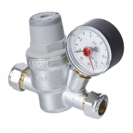 533 High Temp Pressure Reducing Valve Inc Gauge 22mm