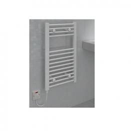 Straight White Towel Rail 800 X 400mm