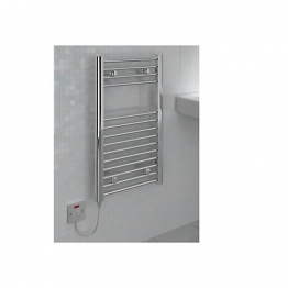 Straight Chrome Towel Rail 800 X 400mm