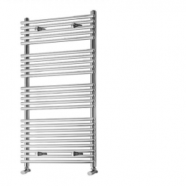 Iflo Furnas Desinger Towel Radiator Chrome 1200 X 500mm