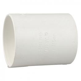 Osma Pvc-c 50mm Solvent Weld Waste Double Socket 2m104 White