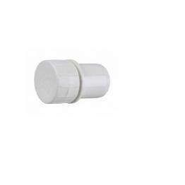 Osma Pvc-c 32mm Solvent Weld Waste Access Plug 4m292 White