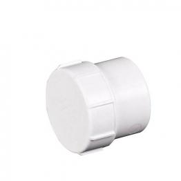 Osma Pvc-c 40mm Solvent Weld Waste Access Plug 5m292 White