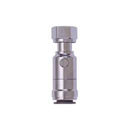 Jg Speedfit Straight Tap Connector And Valve 15mm X 1/2'