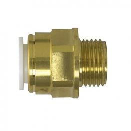 Jg Speedfit Brass Male Coupler 15mm 1/2inch Bspt