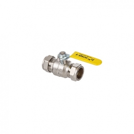 Altecnic Ai-331122 Intaball Compression Ball Valve Yellow Lever (gas) 22mm