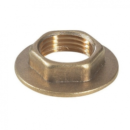 Brass Flanged Backnut 3/4in