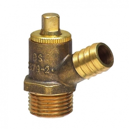 Drain Off Cock Type A - Screw End 1/2in