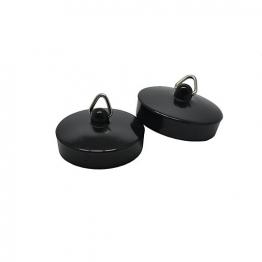 4 Trade 1-3/4in Black Bath/sink Plug Pack Of 2