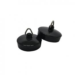 4 Trade 1-1/2in Black Basin Plug Pack Of 2