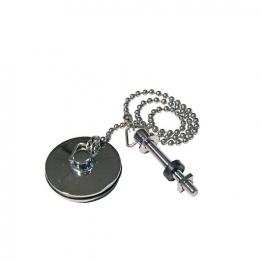 4 Trade 1 1/4in Chrome Basin Plug