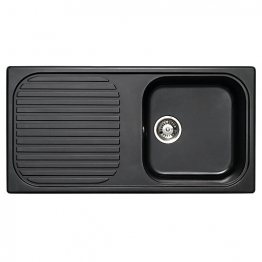 Msk 1.0 Bowl Asterite Black Inset Sink