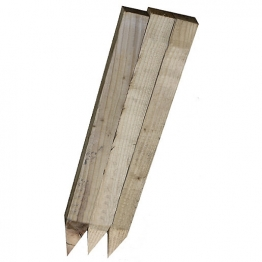 Pointed Pegs Sawn And Treated 47 X 50mm X 450 Mm