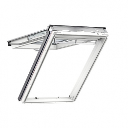 Velux Top Hung Roof Window 550mm X 980mm White Polyurethane Gpu Ck04 0062