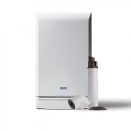 Baxi Duotec 33kw Combi Boiler & Telescopic Flue Pack Erp