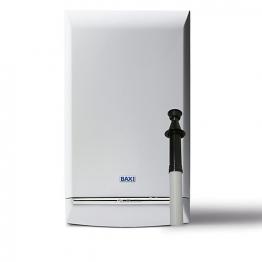 Baxi Platinum 40kw Combi Boiler & Vertical Flue Pack Erp