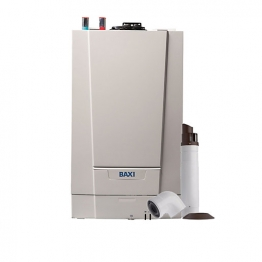 Baxi Ecoblue Advance 16kw Heat Only Boiler & Standard Telescopic Flue Pack Erp