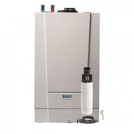 Baxi Ecoblue Advance 19kw Heat Only Boiler & Rear Flue Pack Erp