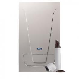 Baxi Ecoblue Plus 33kw Combi Boiler & Standard Telescopic Flue Pack Erp