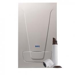 Baxi Ecoblue Advance 33kw Combi Boiler & Standard Telescopic Flue Pack Erp