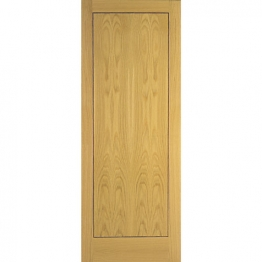 Flush Oak Veneer 1 Panel Internal Door 1981mm X 838mm X 35mm