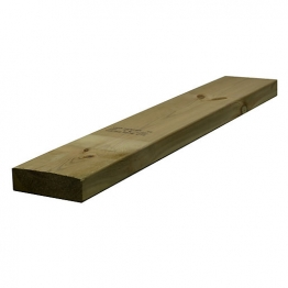 Sawn Timber Regularised Treated C16/c24 47mm X 150mm