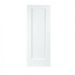 Moulded White Primed Shaker 1 Panel Internal Door 1981mm X 686mm X 35mm