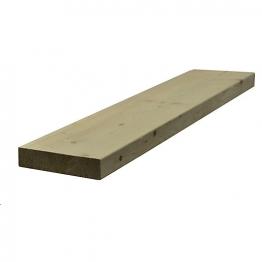 Sawn Timber Regularised C16/c24 47mm X 200mm X 4.8m