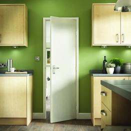 Flush Fibreboard Hollow Core Internal Door 2040mm X 826mm X 35mm