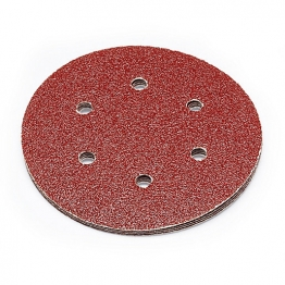Punk 150mm Abrasive Sanding Discs 40 Grit Pack Of 5