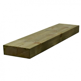 Sawn Timber Regularised Treated C16/c24 75mm X 225mm X 4.8m