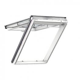 Velux Top Hung Roof Window 550mm X 1180mm White Polyurethane Gpu Ck06 0062