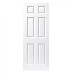 Moulded 6 Panel Grained Hollow Core Internal Door 2040mm X 826mm X 40mm