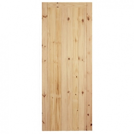 External Flb Redwood Framed Ledged & Braced Door 1981mm X 686mm X 44mm