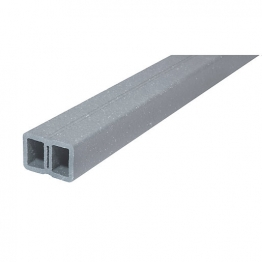 Upm Profi Support Rail Pearl Grey 40 Mm X 66 Mm 4000 Mm