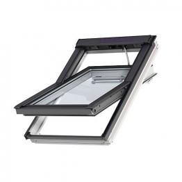 Velux Integra Solar Roof Window 1340mm X 980mm White Painted Ggl Uk04 207030