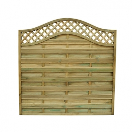 Pitsford Prague Pressure Treated Fence Panel 1800mm X 1800mm