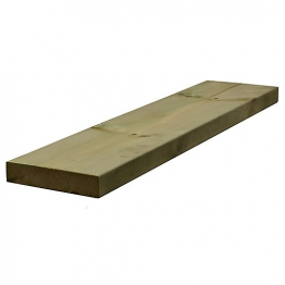 Sawn Timber Regularised Treated C16/c24 47mm X 225mm X 6.0m