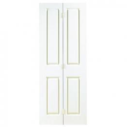 Moulded 4 Panel Smooth Bi-fold Door 1981mm X 762mm X 35mm