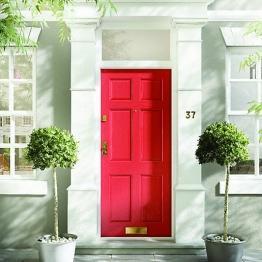 Colonial 6 Panel Hardwood Veneer External Door 2032 X 813 X 44mm
