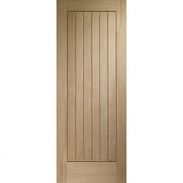 Suffolk Oak Veneer External Door 1981mm X 838mm X 44mm