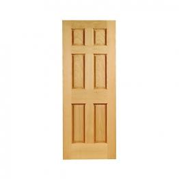 Hardwood Oak Colonial 6 Panel Non Raised Mouldings Internal Door 1981mm X 686mm X 35mm