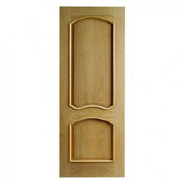Hardwood Oak Louis Raised Mouldings Internal Door 1981mm X 838mm X 35mm