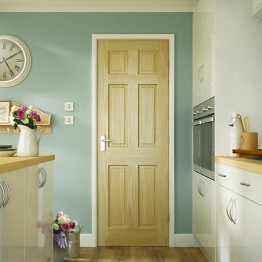 Softwood Colonial 6 Panel Clear Pine Internal Door 1981mm X 686mm X 35mm
