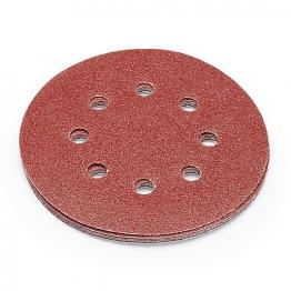 Punk 125mm Abrasive Sanding Discs 80 Grit Pack Of 5